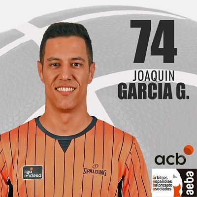 Joaquín García - Árbitros AEBA