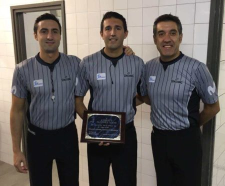 Debut of referees in matches ACB 2017-2018