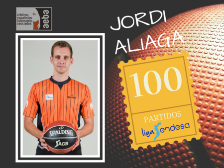 Jordi Aliaga reaches his 100th match at ACB