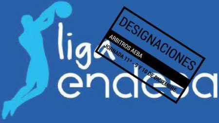 Referees nominations Liga Endesa date 11