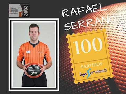 Rafael Serrano alcanza su partido 100 en ACB