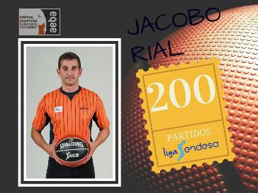 Jacobo Rial reaches his 200th match in ACB