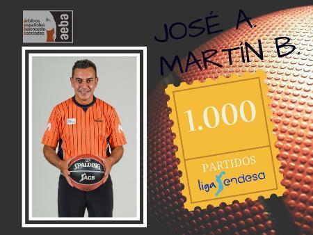 José Antonio Martín Bertrán alcanza su partido ¡¡1000!! en ACB