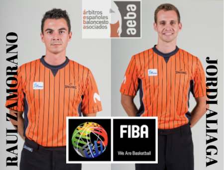 Jordi Aliaga and Raul Zamorano to attend the International Referee Course