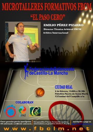 """Emilio Pérez Pizarro impartirá charla sobre """"El paso cero"""""""