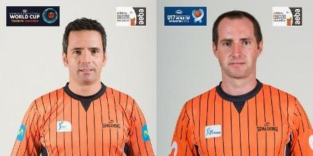 Antonio Conde y Luismi Castillo designados para dos mundiales este verano