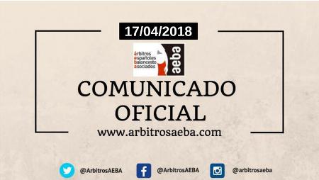 Comunicado oficial AEBA ante últimas declaraciones e informaciones