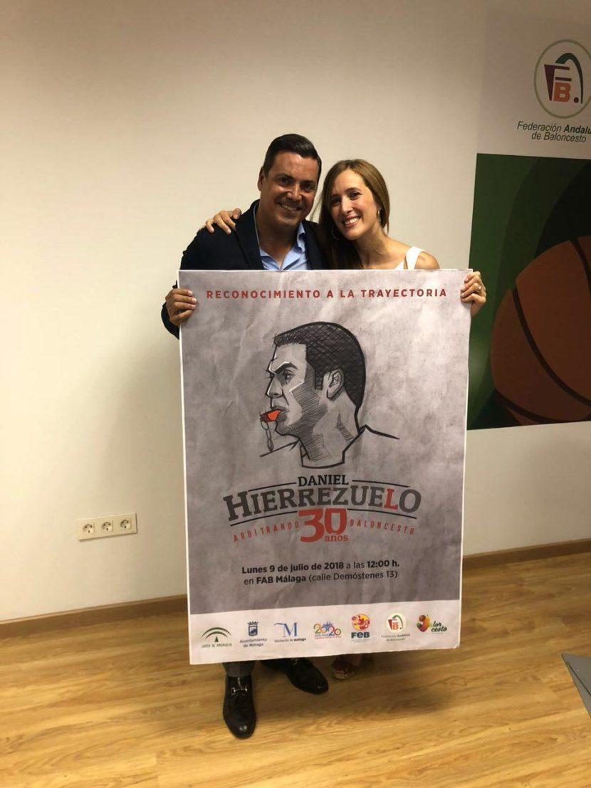 Homenaje a Daniel Hierrezuelo por sus 30 años como árbitro