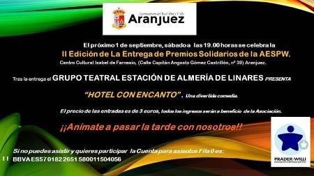 AEBA colabora con la Asociación Española Síndrome Prader Willi