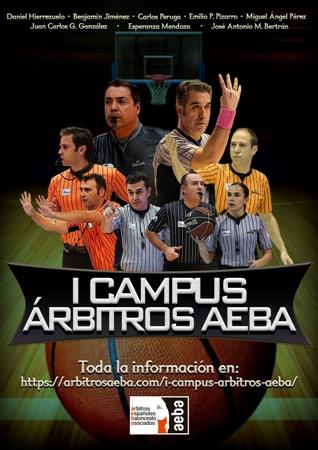 AEBA lanza el I Campus Árbitros AEBA