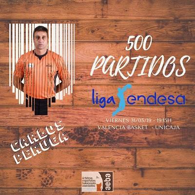 Carlos Peruga alcanzará los 500 partidos en ACB